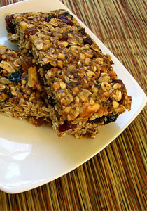 granola bars healthy snacks