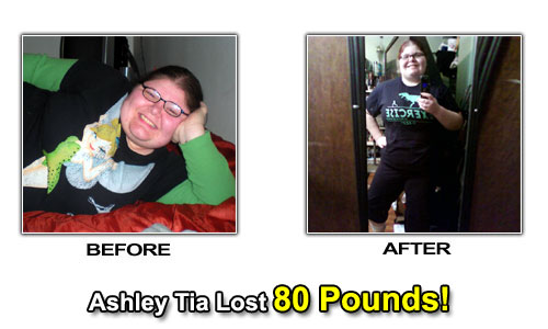 weight loss before after photos ashley tia
