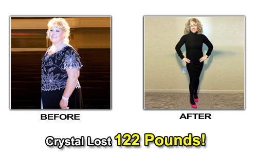 weight loss before after photos crystal
